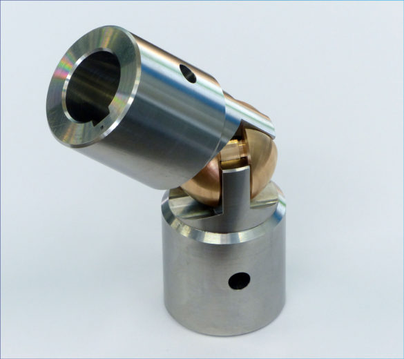 Small size machining of a nuclear cardan - ORATECH