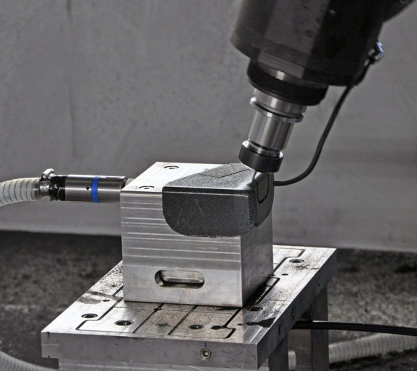 Machining aircraft composite clips - ORATECH
