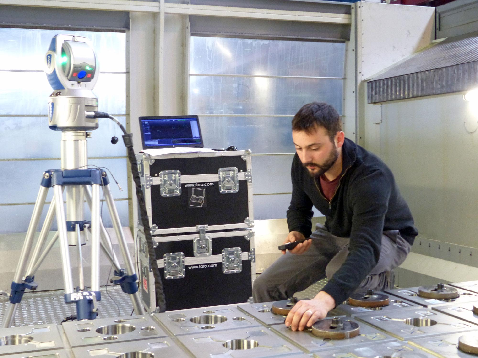 Faro arm metrology tools - ORATECH