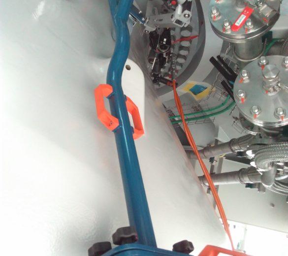 Bras zéro gravité gamme MP assemblage éoliennes
