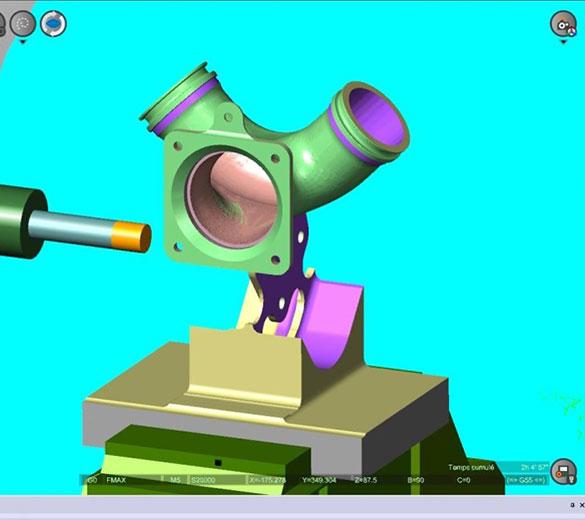 Simulation dans l'environnement de la machine - ORATECH